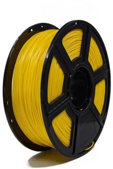 Tlačová struna PLA pre 3D tlačiarne, 3mm, 1kg, tmavo žltá