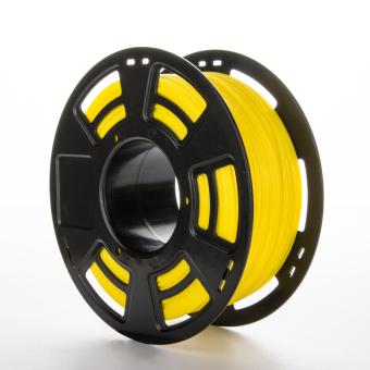Tlačová struna PLA+ pre 3D tlačiarne, 1,75mm, 1kg, žltá