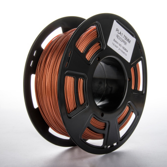 Tlačová struna PLA pre 3D tlačiarne, 1,75mm, 0.5kg, s prímesou medi