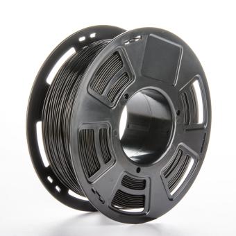 Tlačová struna samozhášavé ABS pre 3D tlačiarne, 1,75mm, 0.8kg, čierna