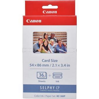 Etikety pre termosublimačné tlačiarne Canon 54x86mm, 36ks, nálepky (KC36IP)