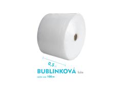 Bublinková fólia - 50cm x 100m - šírka x návin