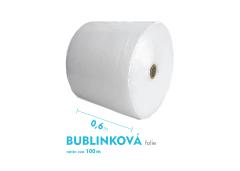 Bublinková fólia - 60cm x 100m - šírka x návin