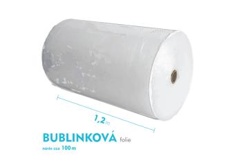 Bublinková fólia - 120cm x 100m - šírka x návin