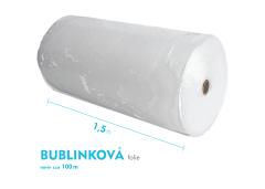 Bublinková fólia - 150cm x 100m - šírka x návin