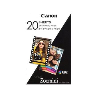 Fotopapier pre termosublimačné tlačiarne Canon 5x7,6cm, 20ks (ZP-2030)
