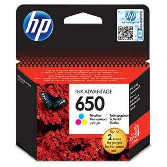 Originálna cartridge HP 650 (CZ102AE) (Farevná)