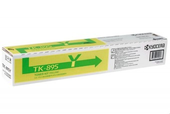 Originálny toner KYOCERA TK-895Y (Žltý)
