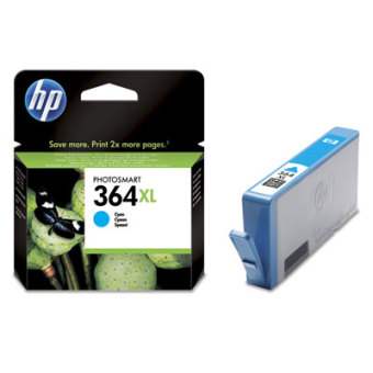 Originálna cartridge HP č. 364C XL (CB323EE) (Azúrová)