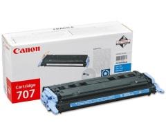 Toner do tiskárny Originálny toner CANON CRG-707 C (Azúrový)