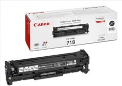 Toner do tiskárny Originálny toner CANON CRG-718 BK (Čierny)