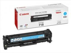 Toner do tiskárny Originálny toner CANON CRG-718 C (Azúrový)