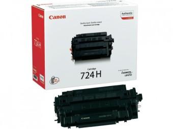Originálny toner CANON CRG-724H BK (Čierný)