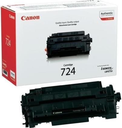 Originálny toner CANON CRG-724 BK (Čierny)