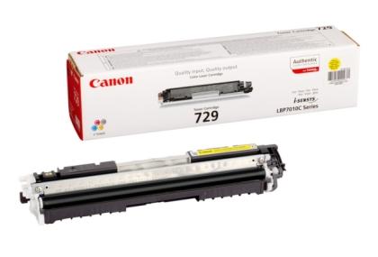 Originálny toner CANON CRG-729 Y (Žltý)