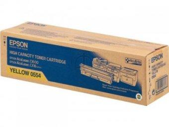 Originálny toner EPSON C13S050554 (Žltý)