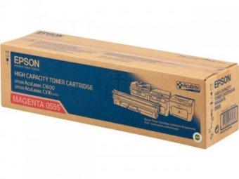 Originálny toner EPSON C13S050555 (Purpurový)