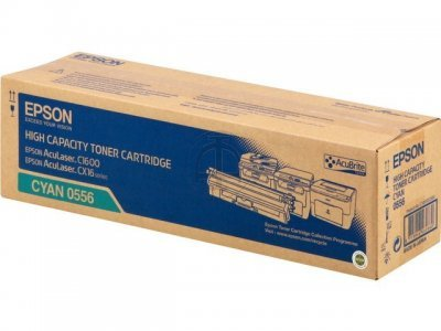 Originálny toner EPSON C13S050556 (Azúrový)