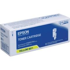 Toner do tiskárny Originálny toner EPSON C13S050611 (Žltý)