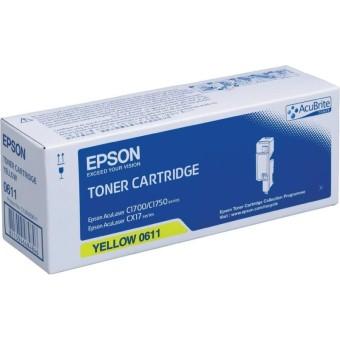Originálny toner EPSON C13S050611 (Žltý)