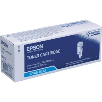 Originálny toner EPSON C13S050613 (Azúrový)