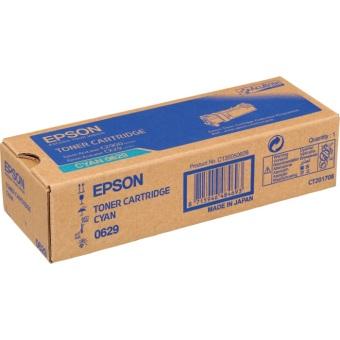 Originálny toner EPSON C13S050629 (Azúrový)