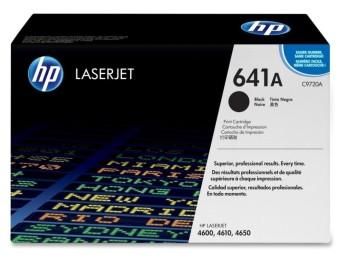 Originálny toner HP 641A, HP C9720A (Čierny)