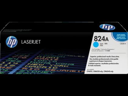 Originálny toner s HP 824A, HP CB381A (Azúrový)