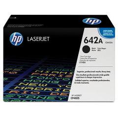 Toner do tiskárny Originálny toner HP 642A, HP CB400A (Čierný)