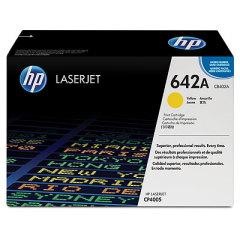 Toner do tiskárny Originálny toner HP 642A, HP CB402A (Žltý)