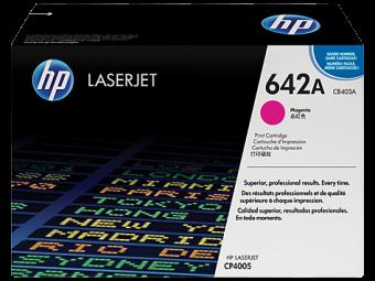 Originálny toner HP 642A, HP CB403A (Purpurový)