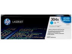 Toner do tiskárny Originálny toner HP 304A, HP CC531A (Azúrový)