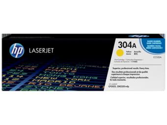 Originálny toner HP 304A, HP CC532A (Žltý)