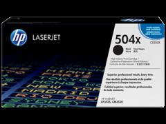 Toner do tiskárny Originálny toner HP 504X, HP CE250X (Čierny)