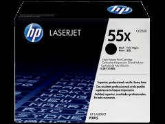 Toner do tiskárny Originálny toner HP 55X, HP CE255X (Čierny)