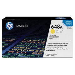 Toner do tiskárny Originálny toner HP 648A, HP CE262A (Žltý)