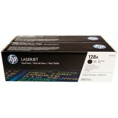 Originálne tonery HP 128A, HP CE320AD (Čierny) multipack