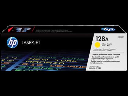 Originálny toner HP 128A, HP CE322A (Žltý)