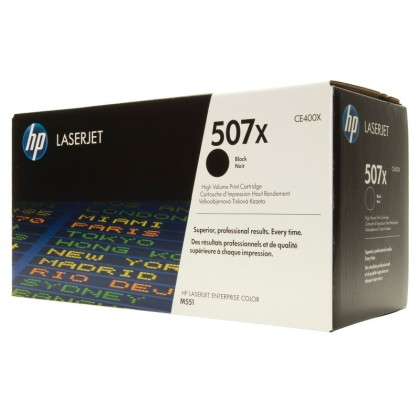 Originálny toner HP 507X, HP CE400X (Čierny)