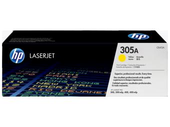 Originálny toner HP 305A, HP CE412A (Žltý)
