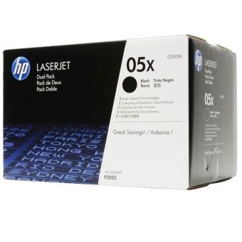 Originálne tonery HP 05X, HP CE505XD (Čierny) multipack