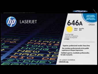 Originálny toner HP 646A, HP CF032A (Žltý)
