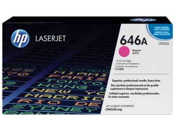 Originálny toner HP 646A, HP CF033A (Purpurový)