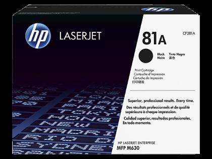 Originálny toner HP 81A, HP CF281A (Čierny)