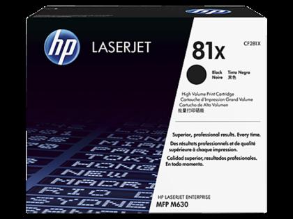 Originálny toner HP 81X, HP CF281X (Čierny)