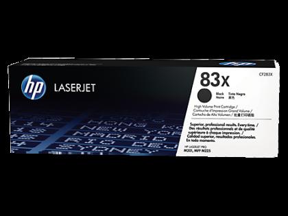 Originálny toner HP 83X, HP CF283X (Čierný)