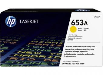 Originálny toner HP 653A, HP CF322A (Žltý)