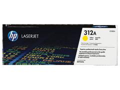 Toner do tiskárny Originálny toner HP 312A, HP CF382A (Žltý)
