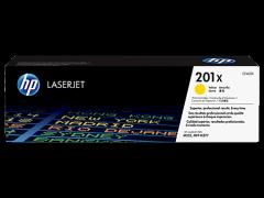 Toner do tiskárny Originálny toner HP 201X, HP CF402X (Žltý)