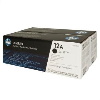 Originálne tonery HP 12A, HP Q2612AD (Čierny) multipack